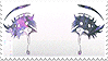 crying eyes stamp by kawaiistamps
