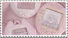 aesthetic stamp by kawaiistamps
