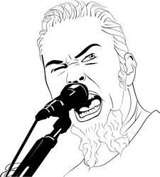 James Hetfield by GNU-knight