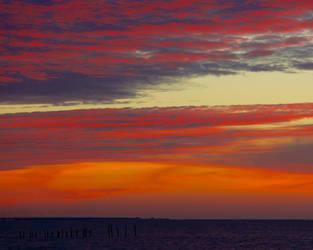 Bridge Sunset by wally626