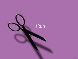 iRun with scissors by death-by-spoon
