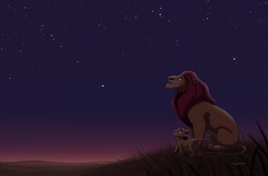 Mufasa and Simba by tigon