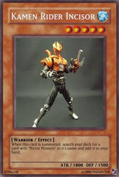 Kamen Rider Incisor by masaruten