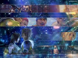 Final Fantasy X by kaiieda