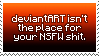 deviantART isnt for your NSFW posts by IceOfWaterflock