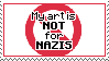 My Art Is Not For Nazis by IceOfWaterflock