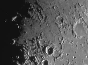 Lunar rilles on Sept 17 by giovannigabrieli