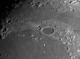 Along the lunar terminator on Sept 19 by giovannigabrieli