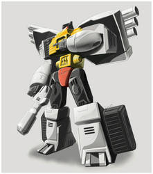 Grimlock by LONEOLD