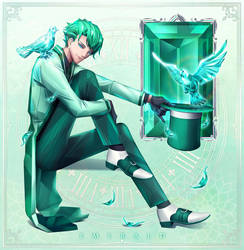 Emerald - Birthstone 05 by LONEOLD