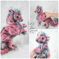 Kaimu the Sea Kirin-Poseable Fantasy Creature Doll by RikerCreatures