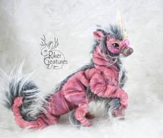 Kaimu the Sea Kirin-Poseable Fantasy Creature Doll by RikerCreatures