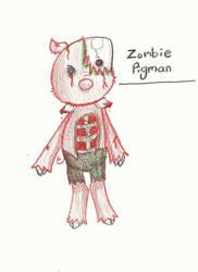 MineZ Journal - Zombie Pigman by Minish-Mae