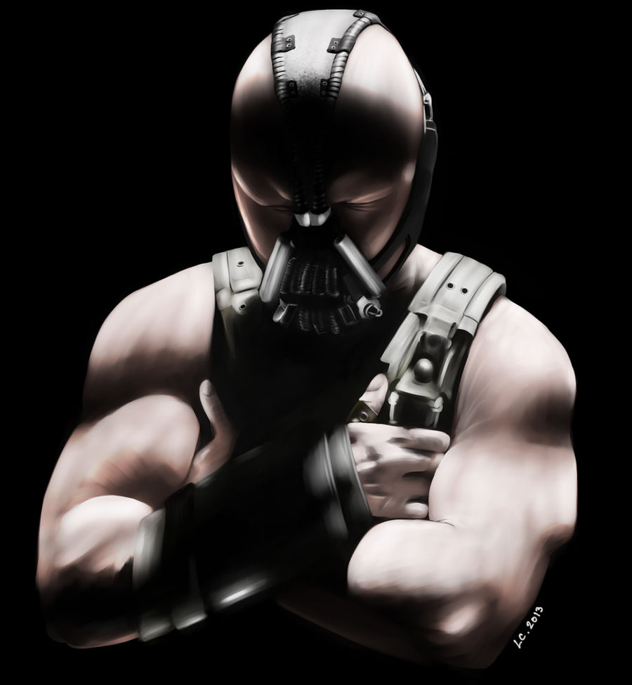 Bane - The Dark Knight Rises by lecouin