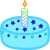 Cake Icon 4, Frosting by xVanyx