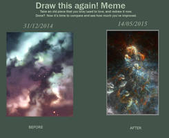 Meme : Draw this again! Dusty Sky ! by Spin-T