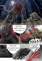 Wolf Comic --SS-page2-- by SheltieWolf