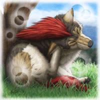 Mane Wolf by SheltieWolf