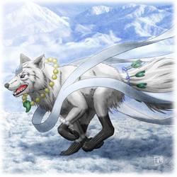 Angel Wolf by SheltieWolf