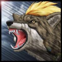 Wolf Roar by SheltieWolf
