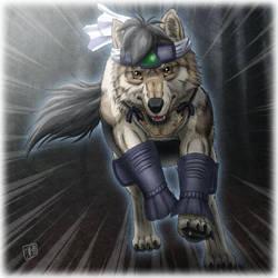 Wolf Dash by SheltieWolf