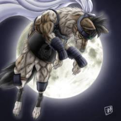 Kendo Wolf by SheltieWolf