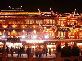 shanghai china by SheltieWolf