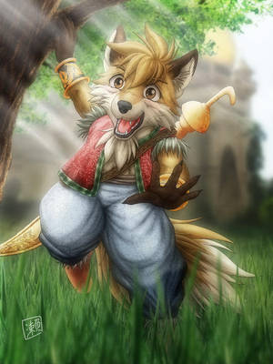 Little Fox by SheltieWolf