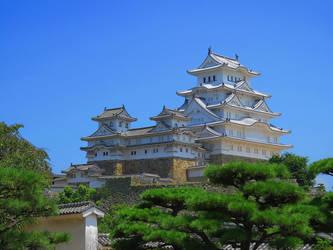 Himeji Castle by SheltieWolf