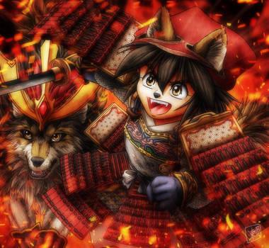 Little Samurai by SheltieWolf