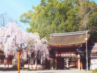 Hirano-Jinja Kyoto by SheltieWolf