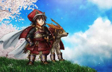 Samurai's Will by SheltieWolf