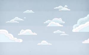 Retro Clouds by Davinness