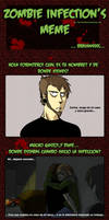 Zombie Infection MEME - Carlos by Tunazilla