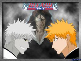 Ichigo and Hichigo by h-Ichigo