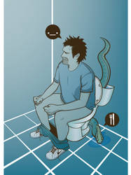 Monster Of Toilet by MkDsg