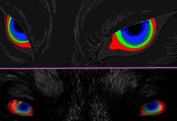 my fursonas eyes by TheGreatSphinx