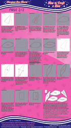 How to Draft a Bow (2/2) Maryjane's Bow Tutorial by MaryjaneDesignStudio