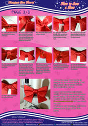 How to Sew a Bow (3/3) Maryjane's Bow Tutorial by MaryjaneDesignStudio