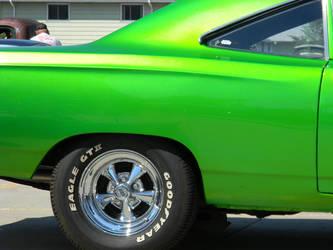 Mean Green Hemi Machine by foreverartme
