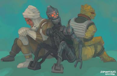 Bounty Hunters by splendidland