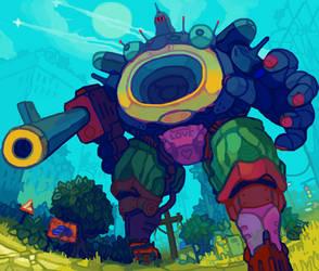 robot thing by splendidland