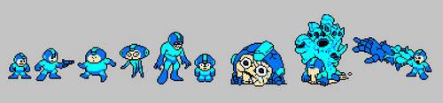 Mega Man by splendidland