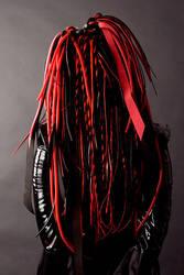 cyber wig inspiredby Angelspit by LunaticDolls