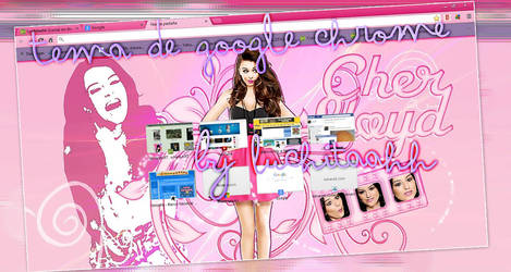 Cher Lloyd Google Chrome Theme by DamnProblem