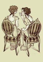Jane Austen by AbigailLarson