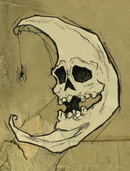 Skelemoon by AbigailLarson