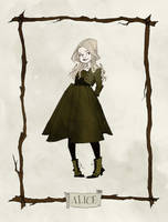 Alice Portrait by AbigailLarson