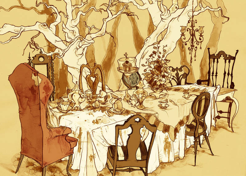 A Mad Tea Party: Setting by AbigailLarson