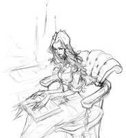 Asenath Sketch by AbigailLarson